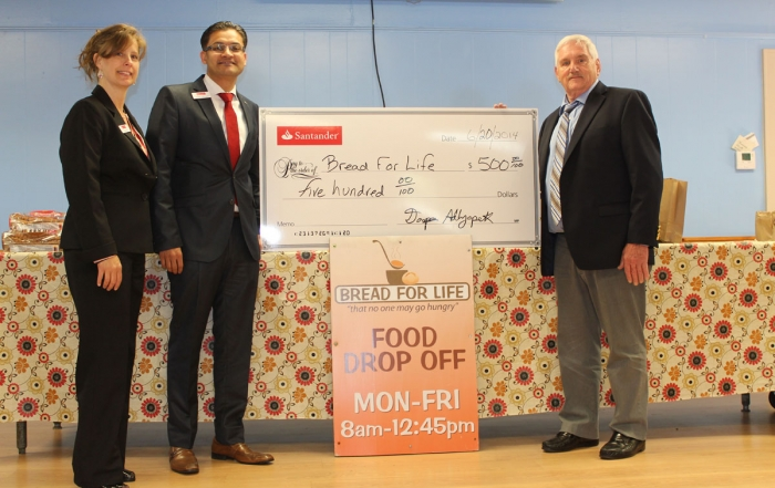 bread-for-life-santander-bank-donation