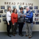 Southington Paraprofessionals Giving Bread for Life a Donation