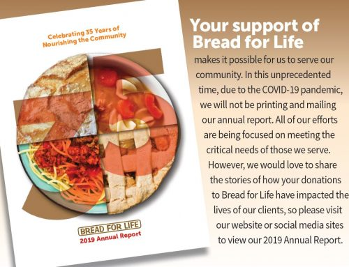 Bread For Life Annual Report – 2019